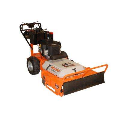 36 in  22 HP Subaru Commercial Duty Dual Hydro Brush Power Type in Gas,  Electric Start Gas Commercial Walk Behind Mower