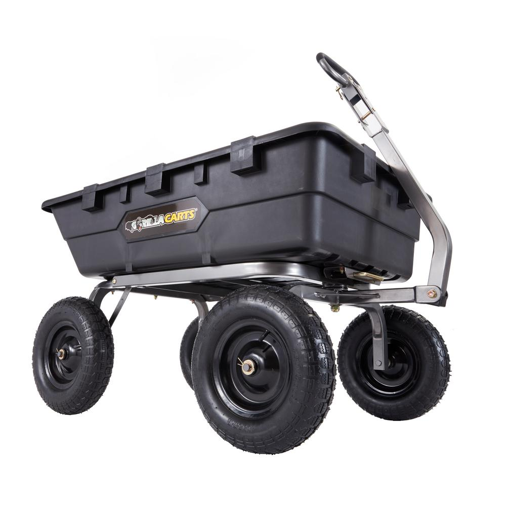 Super Heavy Duty Poly Dump Cart