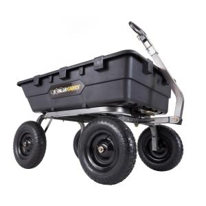 Gorilla Carts 1,500 lb. Super Heavy Duty Poly Dump Cart by Gorilla Carts
