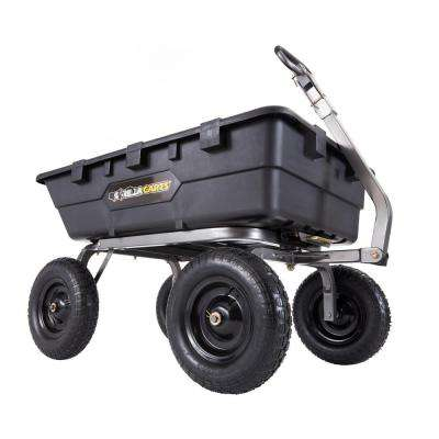 1,500 lb. Super Heavy Duty Poly Dump Cart