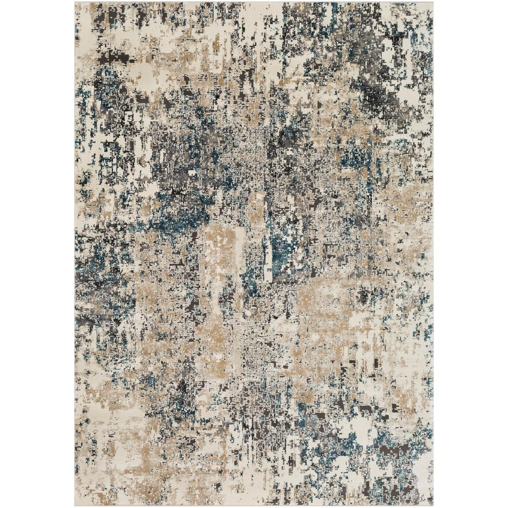 Artistic Weavers Zehra Taupe 6 ft. 7 in. x 9 ft. 6 in. Distressed Area Rug