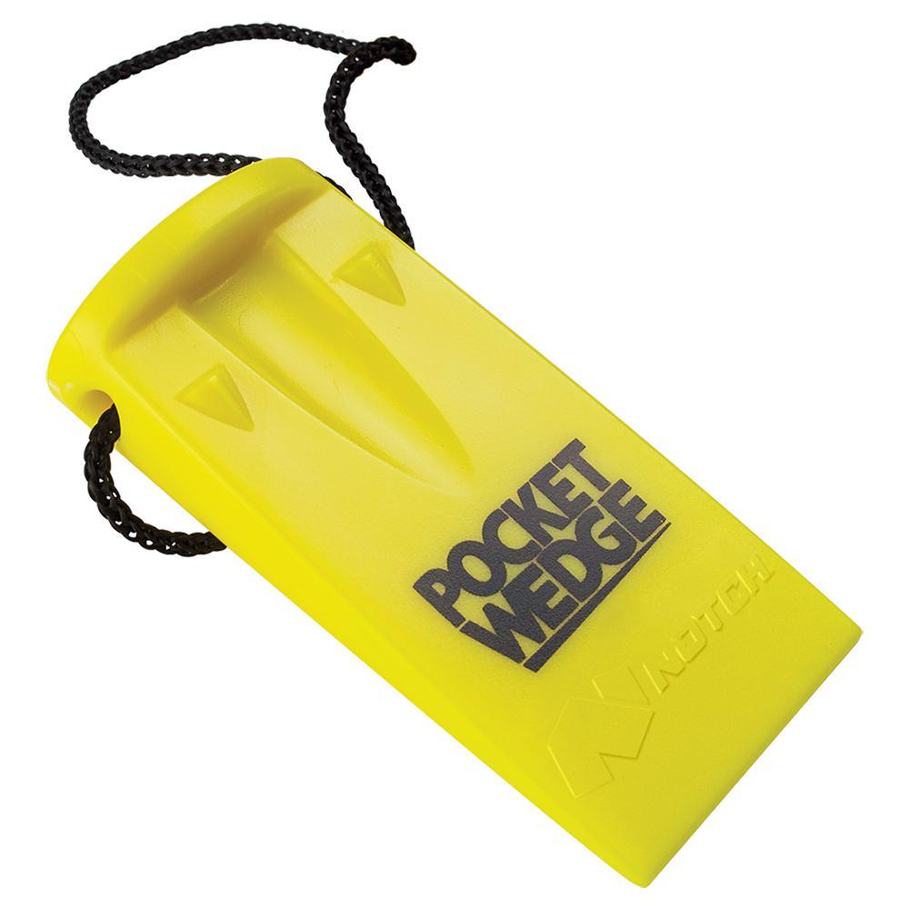 Pocket Kerf Chainsaw Wedge