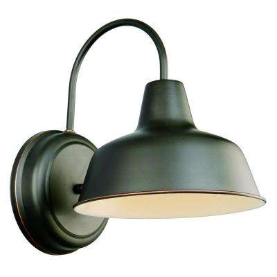 mason rlm oil rubbed bronze outdoor wall mount dark sky downlight - Design House Lighting