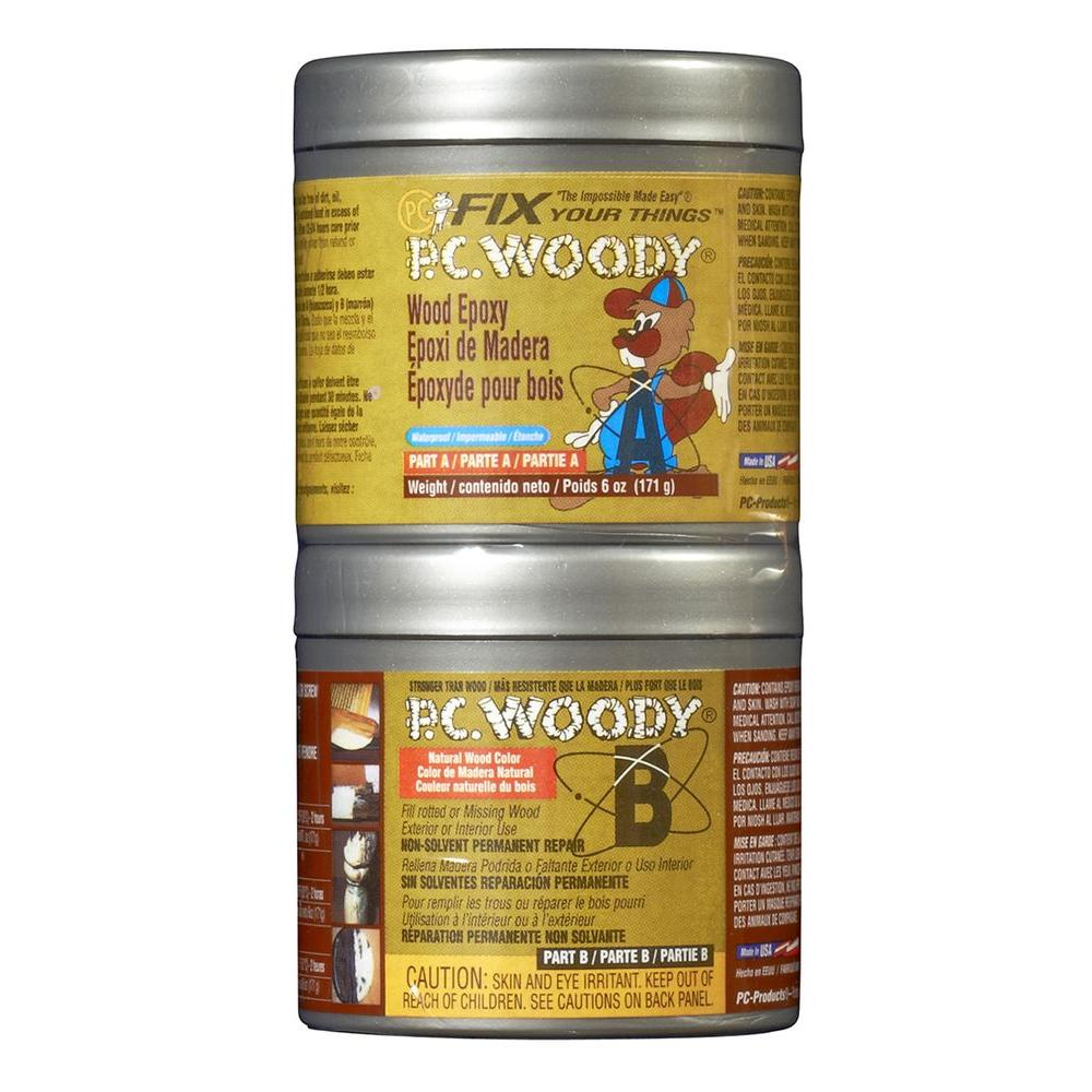 PC Products 6 oz. PC-Woody Wood Epoxy Paste-083338 - The Home Depot