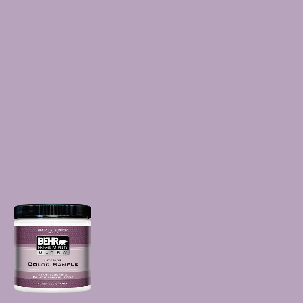 8 oz. #M100-3 Svelte Eggshell Enamel Interior Paint and Primer in