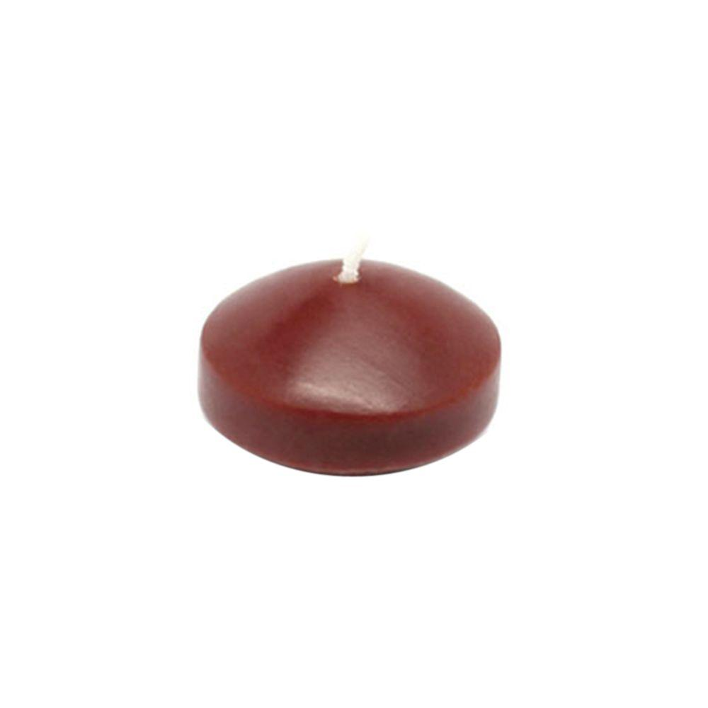 1.75 in. Brown Floating Candles (Box of 24)