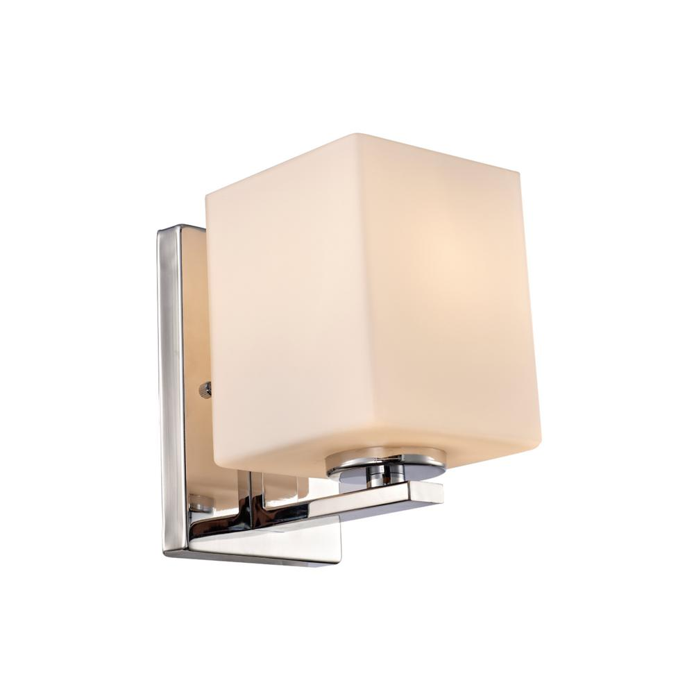 Karsen 1-Light Polished Chrome Wall Sconce