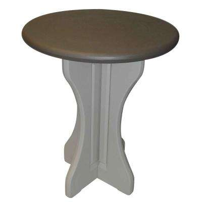 Portabello 30 in. Resin Patio Bistro Table