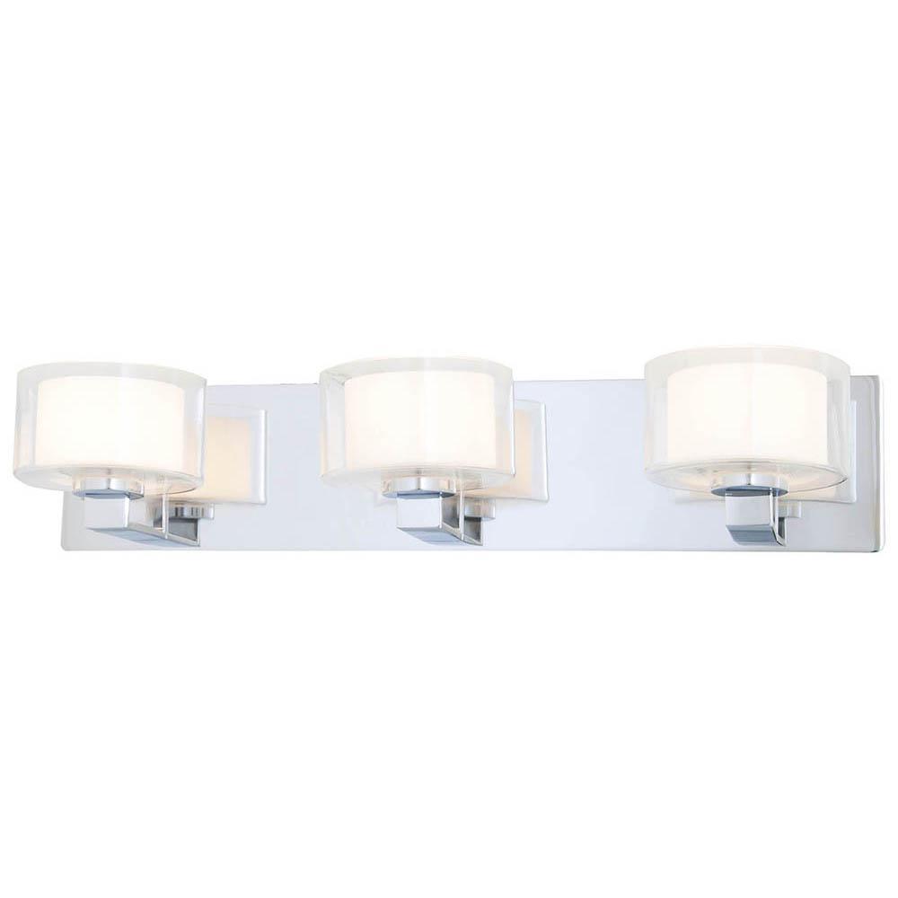 Filament Design Alia 3-Light Chrome Bath Light