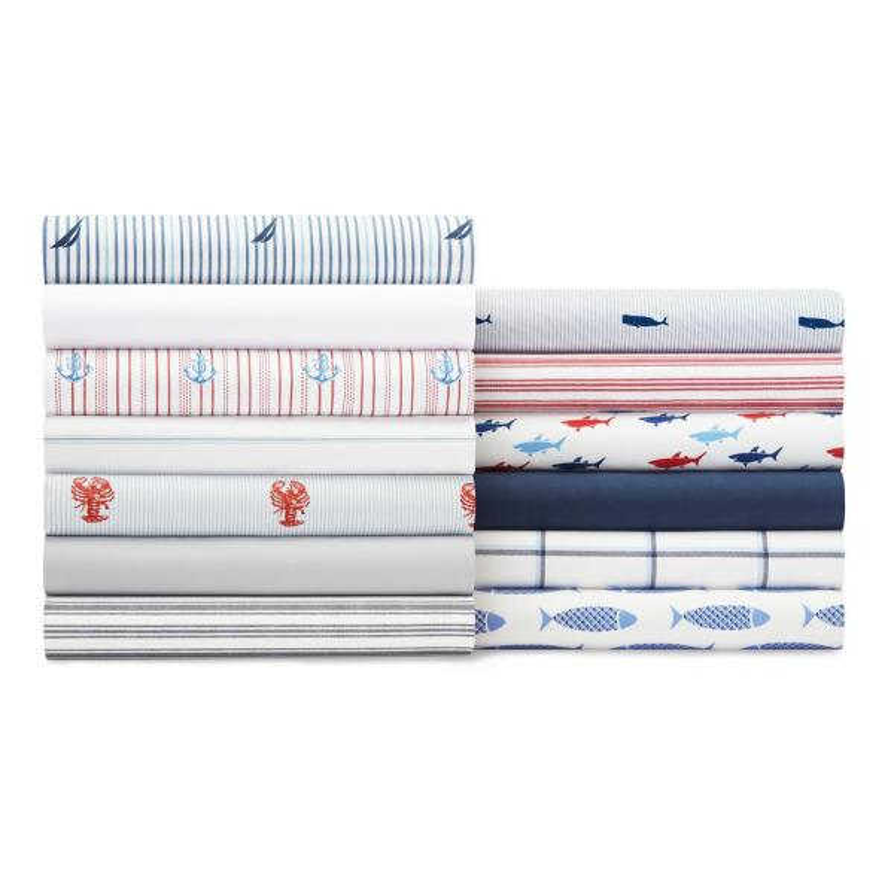 Nautica Skippers Island Sheet Set Twin XL Blue