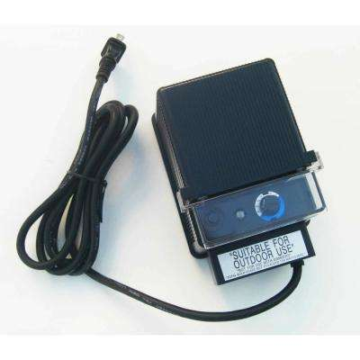 Low Voltage 150-Watt 12-Volt Black Plastic Landscape Lighting Transformer with Photocell and Timer