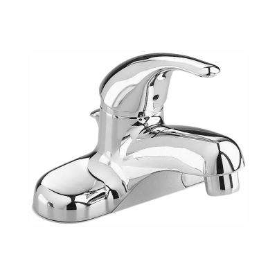 Colony Soft 4 in. Centerset Single Handle Low-Arc Bathroom Faucet in Polished Chrome