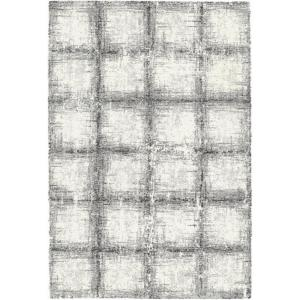 Dynamic Rugs Mehari Squares Black/White 2 ft. x 3 ft. 11 inch Indoor Accent Rug by Dynamic Rugs