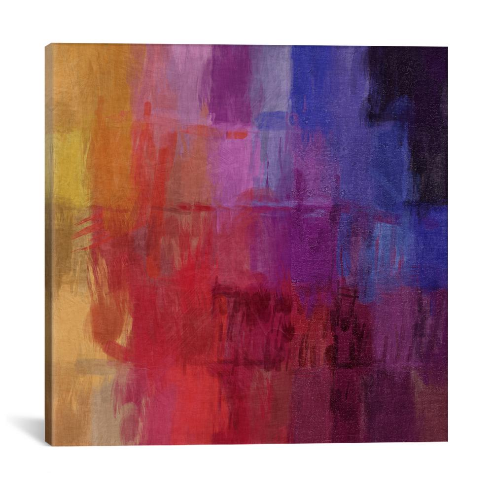 ''Modern Art- Watercolors'' by 5by5collective Canvas Wall Art