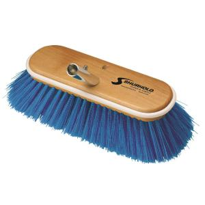 Shurhold 10 inch Deck Brush Extra Soft Blue Nylon by Shurhold