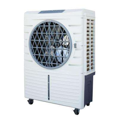 1062 CFM 3-Speed 101-Pint Heavy-Duty Indoor Portable Evaporative Cooler for 250 sq. ft.