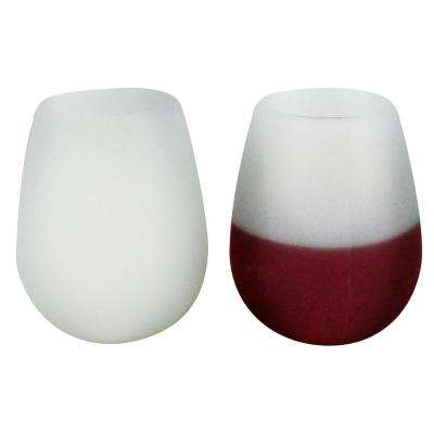 2-Piece Silicone Wine Glasses