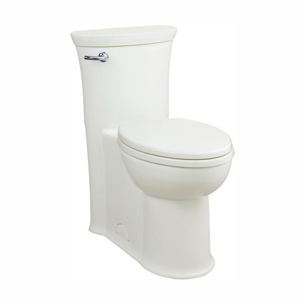 American Standard Tropic 1-Piece 1.28/1.6 GPF Single Flush Elongated Toilet in White
