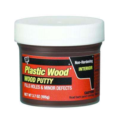 Plastic Wood 3.7 oz. Red Mahogany Wood Putty (6-Pack)