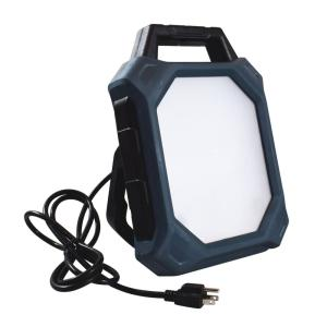 GT-LITE Rechargeable Work Light 4000 Lumens w// USB Power Bank Port and 5 ft 120