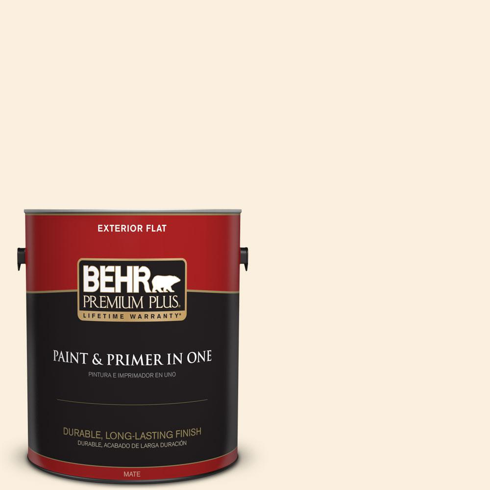 1-gal. #PPL-31 Desert Powder Flat Exterior Paint