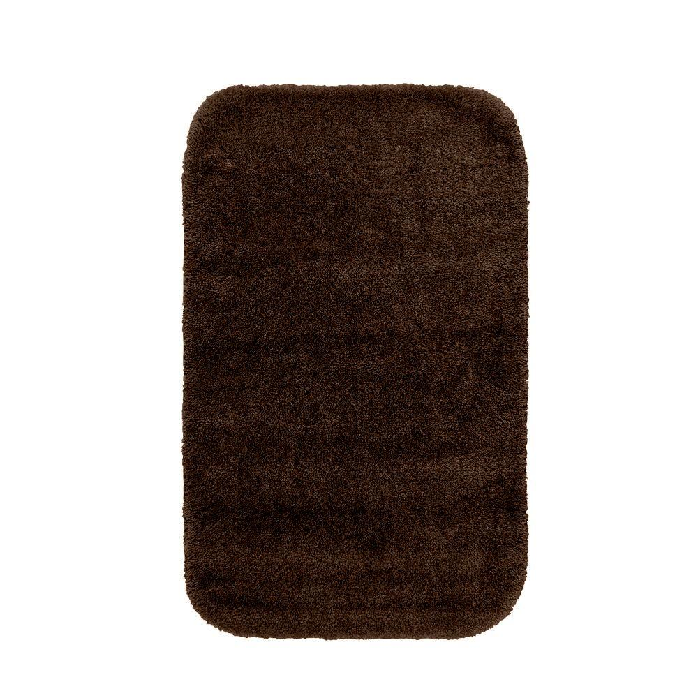 washable bathroom shower runner bath mat accent rug carpet kit brown 24 x 40 in 691201808566 ebay