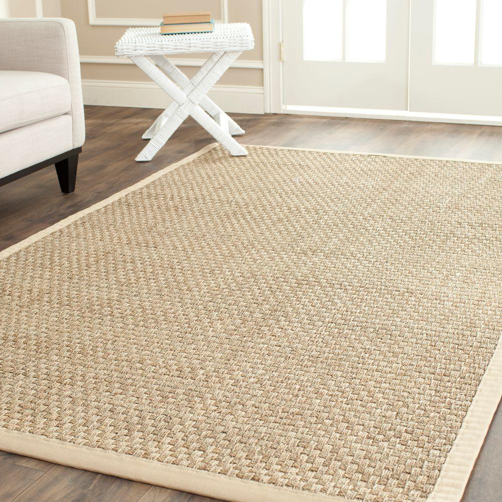 Safavieh Natural Fiber Tan Beige 10 Ft X 14 Ft Area Rug