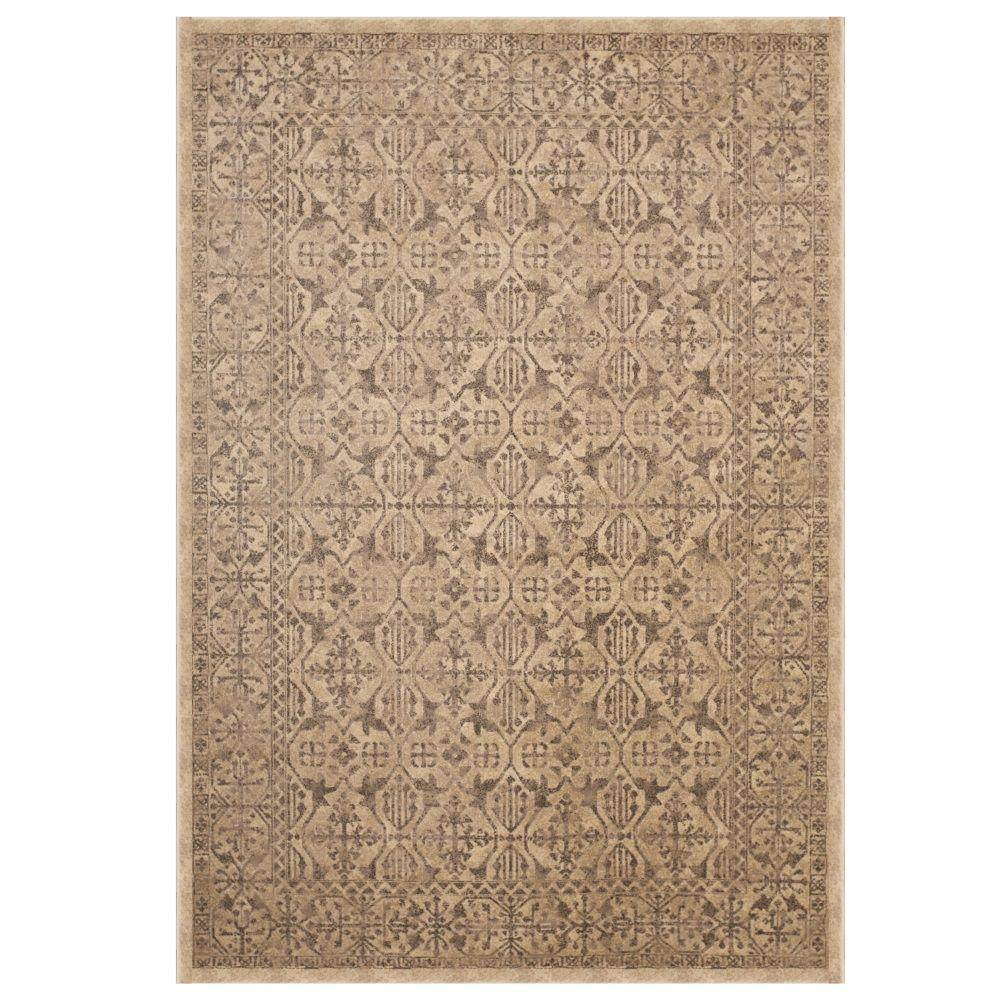 Sams International Sonoma Surry Tan 5 ft. 3 in. x 7 ft. 6 in. Area Rug