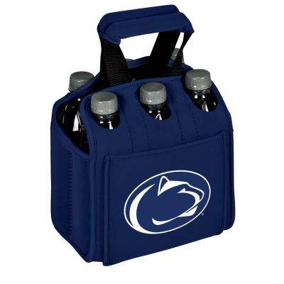 Penn State University Nittany Lions 6-Bottles Navy Beverage Carrier