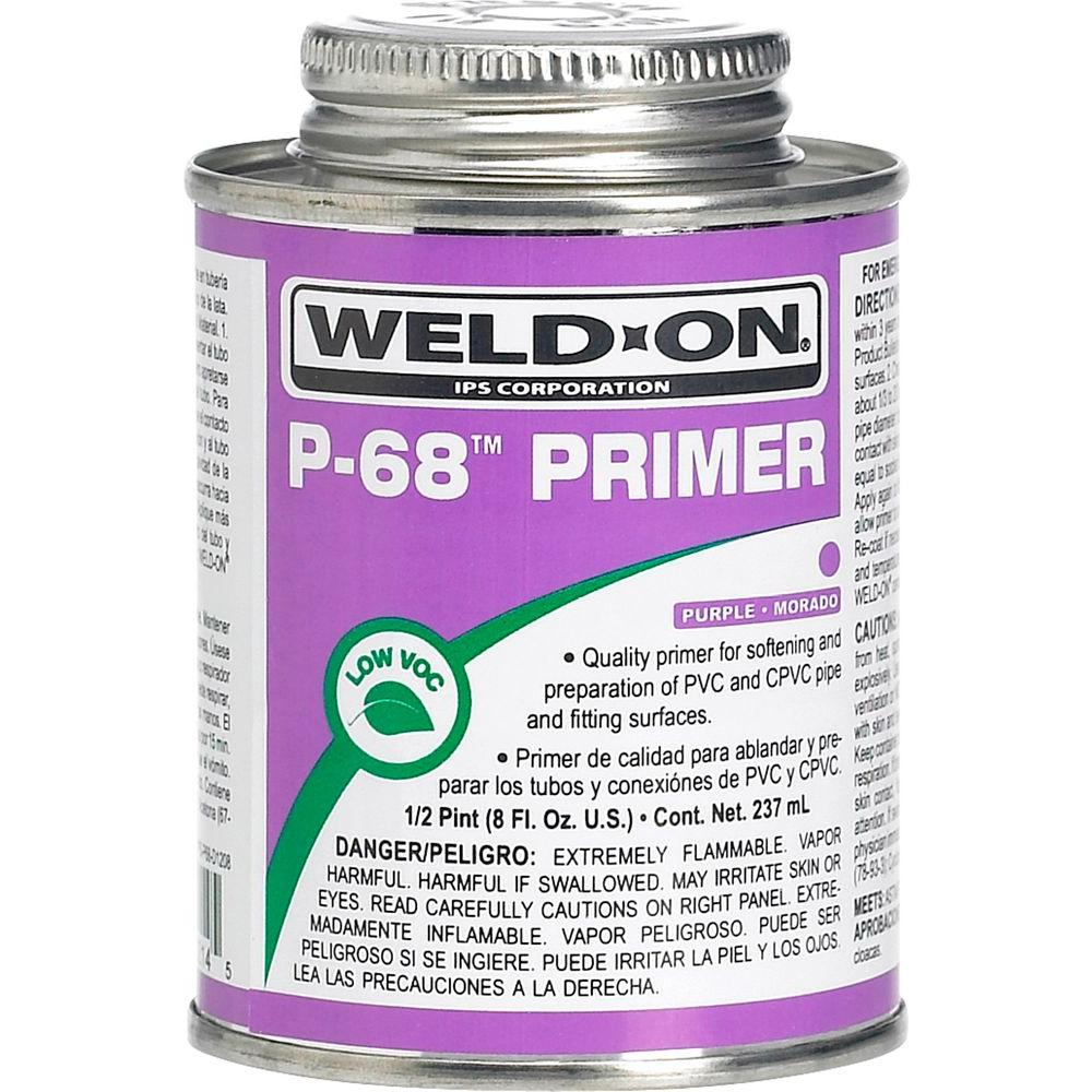 Weld-On PVC P-68 8 oz. Primer - Purple