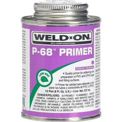 8 oz. PVC P-68 Primer in Purple