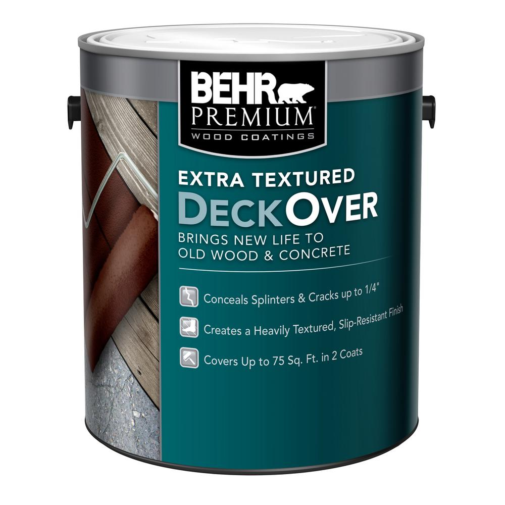 Behr Premium Extra Textured Deckover 1 Gal Extra Textured Solid Color Exterior Wood And