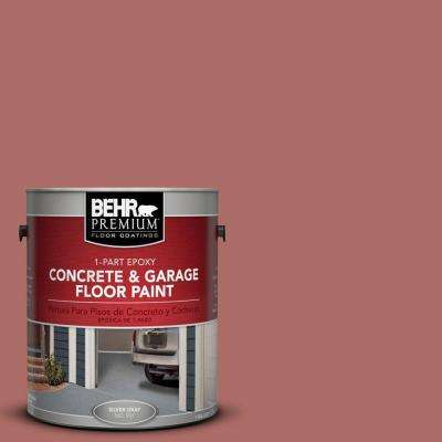 1 gal. #PFC-01 New England Brick 1-Part Epoxy Concrete and Garage Floor Paint