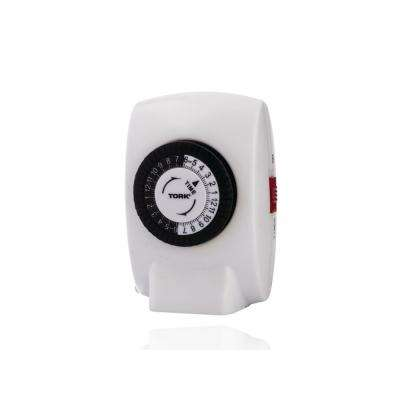 15 Amp 24-Hour Mechanical Plug-In 1-Grounded Outlet Timer