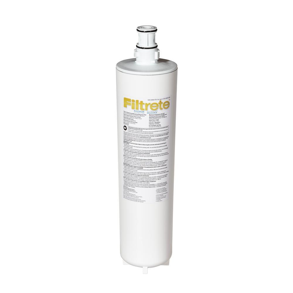 Filtrete Maximum Under Sink Water Filtration Filter 3us