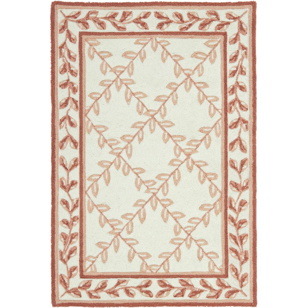 Safavieh Easy Care Ivory/Beige 2 ft. x 3 ft. Area Rug