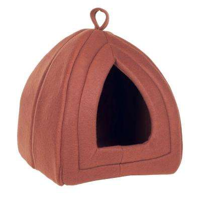 Small Tan Cozy Kitty Tent Igloo
