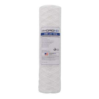 SWC-25-1010 2.5 in. x 10 in. 10 Micron String Wound Filter