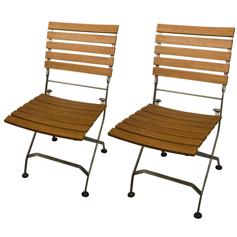 null Set of Galleria Folding Patio Chairs (2-Pack)-DISCONTINUED