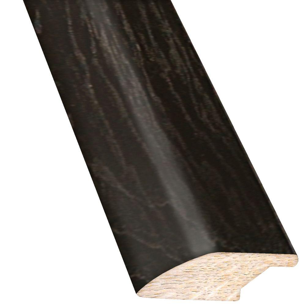 Hickory Ebony 3/4 in. Thick x 2-1/4 in. Wide x 78