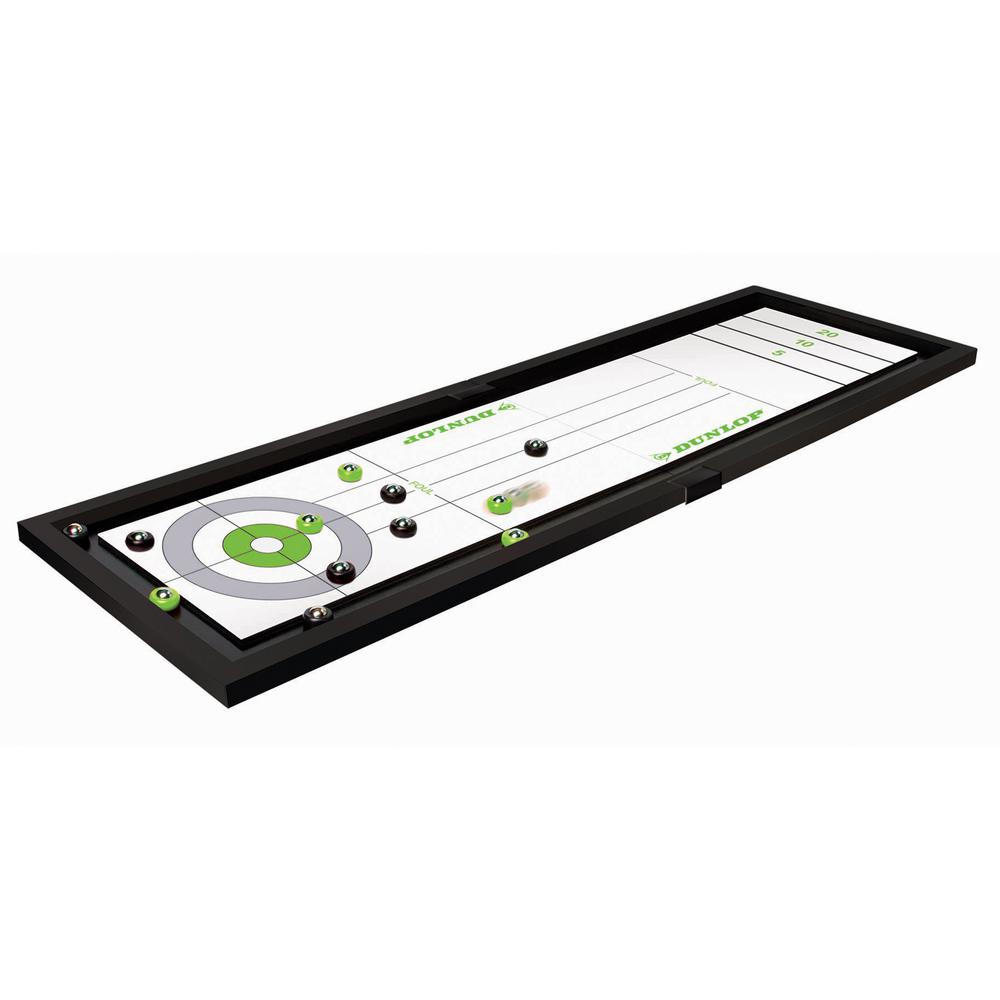 Dunlop Tabletop Shuffleboard And Curling Game