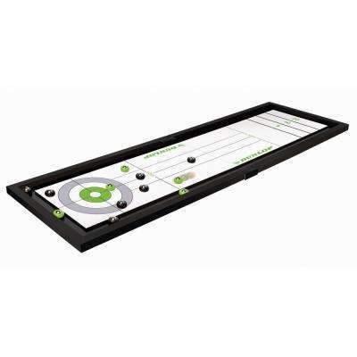 Tabletop Shuffleboard and Curling Game
