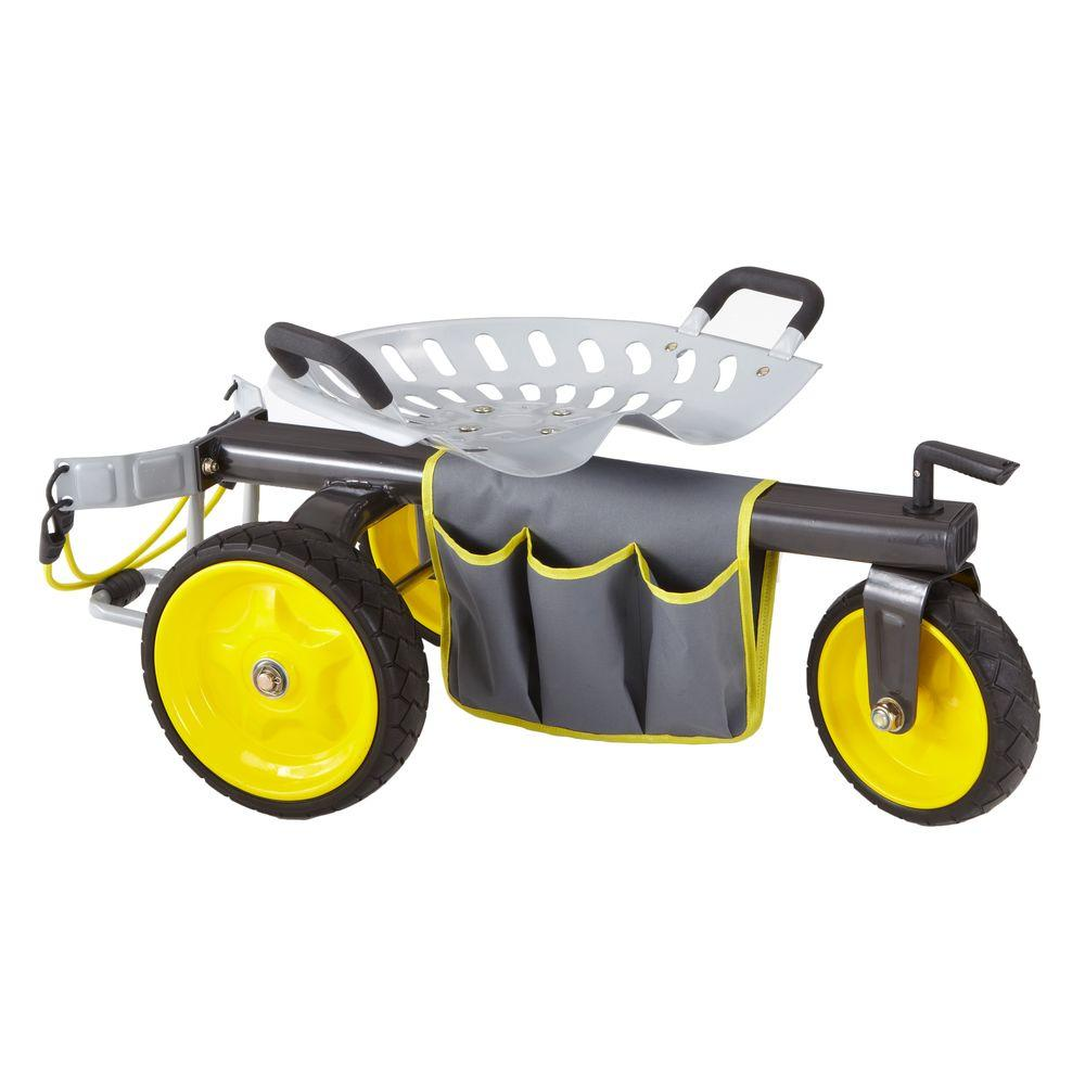 High Quality Gorilla Carts Rolling Garden Scooter