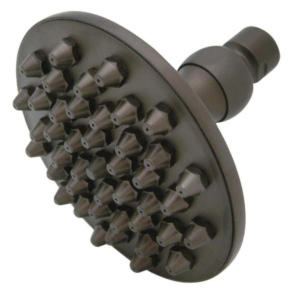 Victorian 1-Spray 4.75 in. Showerhead in Oil Rubbed Bronze