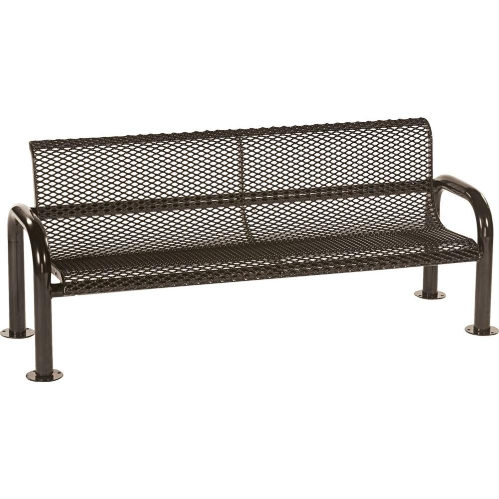 Tradewinds Harmony 6 ft. Brown Commercial Bench