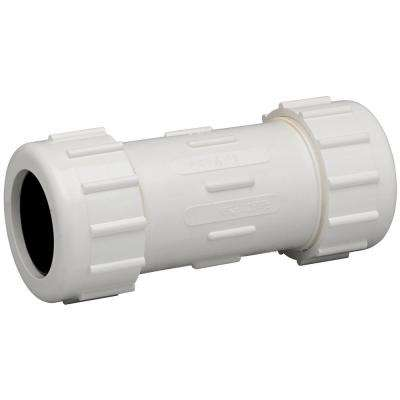 1-1/2 in. PVC Compression Coupling