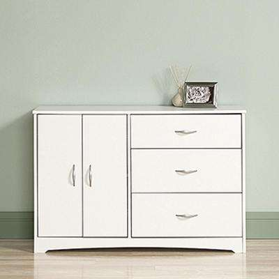 Beginnings 3-Drawer Soft White Dresser