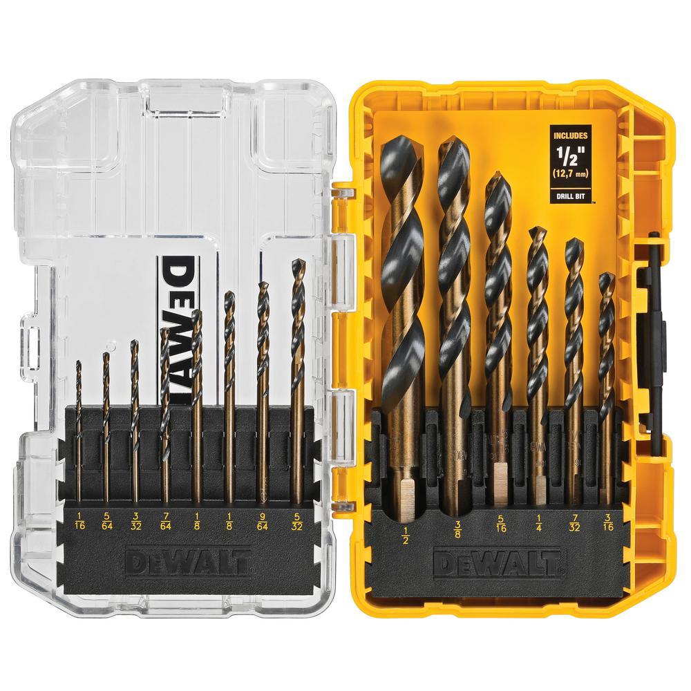 DEWALT Black and Gold Drill Bit Set (14-Piece) was $14.97 now $9.97 (33.0% off)