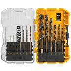 Dewalt 14-Piece Black and Gold Drill Bit Set