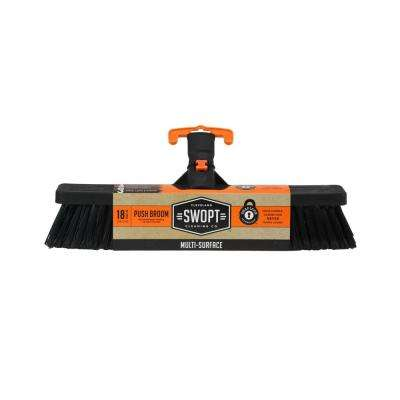 18 in. Standard Multi-Surface Push Broom Head
